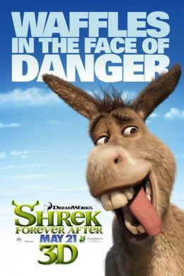photo 62/153 - Affiche préventive US - Shrek 4, il était une fin - © Paramount