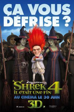 photo 52/153 - Affiche préventive française - Shrek 4, il était une fin - © Paramount
