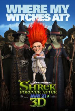 photo 63/153 - Affiche préventive US - Shrek 4, il était une fin - © Paramount