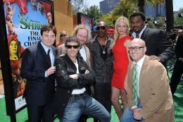 photo 95/153 - Mike Myers, Antonio Bandera, Walt Dohrn, Eddie Murphy, Cameron Diaz, Craig Robinson et Mike Mitchell - Avant-première à Los Angeles (Mai 2010) - Shrek 4, il était une fin - © Paramount
