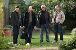 photo 17/18 - Marc Lavoine, Gerard Darmon, Jean-Pierre Darroussin et Bernard Campan - Le coeur des hommes 2 - © Path� Distribution