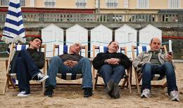 photo 2/18 - Marc Lavoine, Gerard Darmon, Jean-Pierre Darroussin et Bernard Campan - Le coeur des hommes 2 - © Path� Distribution