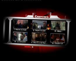 Le Dernier train de la nuit Menu Dvd photo 2 sur 2