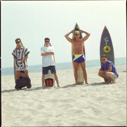 Luke Perry Luke Perry, Brian Austin Green, Ian Ziering photo 8 sur 9