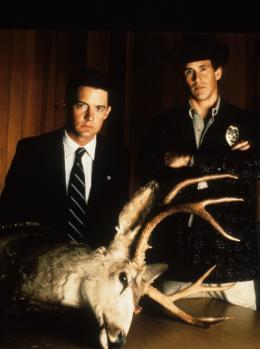 photo 18/136 - Kyle Maclachlan et Michael Ontkean - Twin Peaks - Saison 1