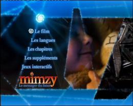 Mimzy le messager du futur Menu dvd photo 10 sur 11
