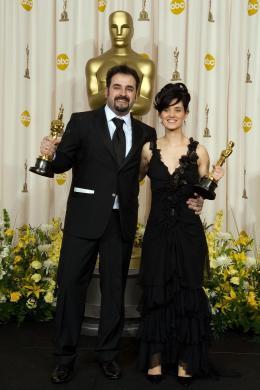Montse Ribe Cérémonie des Oscars 2007 photo 1 sur 1