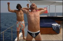 photo 27/35 - Vincent Elbaz et Benoît Poelvoorde - Les Randonneurs à Saint Tropez - © TFM Distribution