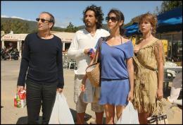 photo 21/35 - Philippe Harel, Vincent Elbaz, Géraldine Pailhas et Karin Viard - Les Randonneurs à Saint Tropez - © TFM Distribution