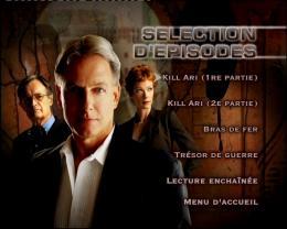 NCIS Enquêtes spéciales - Saison 3 Menu Dvd photo 2 sur 2