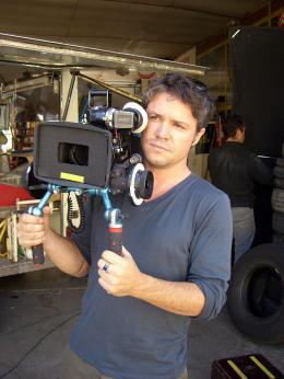 Eric Guirado Sur le tournage du Fils de l'épicier photo 2 sur 2