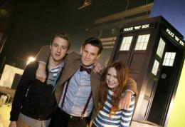 photo 69/320 - Arthur Darvill, Matt Smith, Karen Gillan - Doctor Who - © BBC