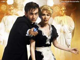 photo 292/320 - David Tennant, Kylie Minogue - Doctor Who - © BBC