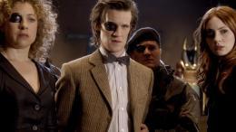 photo 79/320 - Alex Kingston, Matt Smith, Karen Gillan - Doctor Who - © BBC