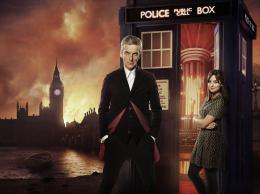 photo 17/320 - Peter Capaldi, Jenna-Louise Coleman - Doctor Who