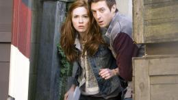 photo 132/320 - Karen Gillan, Arthur Darvill - Doctor Who - © BBC