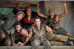 Tonnerre sous les tropiques Robert Downey Jr., Jay Baruchel ,Jack Black, Nick Nolte, Ben Stiller, Brandon T. Jackson photo 3 sur 57