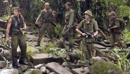 photo 15/57 - Ben Stiller, Brandon T. Jackson, Robert Downey Jr., Jay Baruchel, Jack Black - Tonnerre sous les tropiques - © Paramount