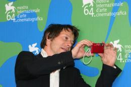 photo 15/19 - Mathieu Amalric - Présentation du film au Festival de Venise 2007 - L'histoire de Richard O. - © Isabelle Vautier pour CommeAuCinema.com