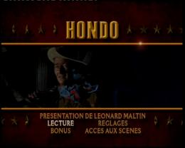 photo 1/2 - Menu Dvd - Hondo, l�homme du d�sert - © Paramount Home Entertainment Vid�o