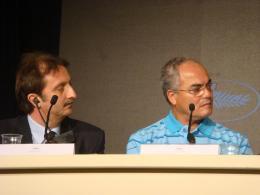 Ahmed El Maanouni Cannes 2007 photo 2 sur 2