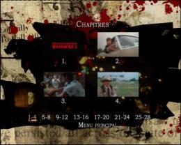 photo 2/2 - Menu Dvd - Massacre à la tronçonneuse 2 - © MGM