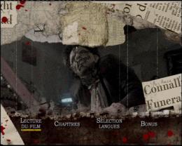 photo 1/2 - Menu Dvd - Massacre à la tronçonneuse 2 - © MGM