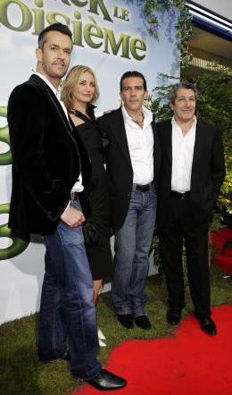 photo 34/112 - Rupert Everett, Cameron Diaz, Antonio Banderas et Alain Chabat - Avant-Première à Paris, le 7 juin 2007 - Shrek Le troisième - © Paramount