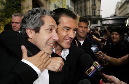 photo 46/112 - Alain Chabat et Antonio Banderas - Avant-Première à Paris, le 7 juin 2007 - Shrek Le troisième - © Paramount