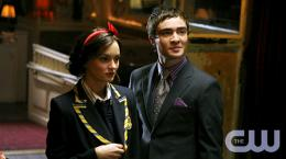 photo 230/329 - Leighton Meester, Ed Westwick - Saison 1 - Gossip Girl - © CW
