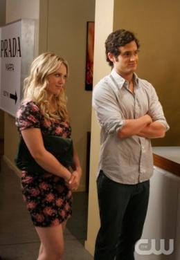 photo 111/329 - Hilary Duff et Penn Badgley - Saison 3 - Gossip Girl - © CW