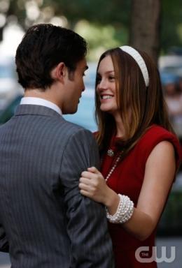 photo 120/329 - Ed Westwick et Leighton Meester - Saison 3 - Gossip Girl - © CW