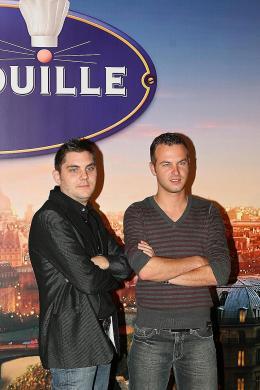 photo 59/122 - Jeroen Meus et Stan Van Samang - Avant-première à Paris - 30 juin 2007 - Ratatouille - © BVI