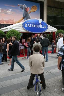photo 55/122 - Avant-première à Paris - 30 juin 2007 - Ratatouille - © BVI