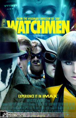 photo 94/160 - Affiche Imax - Watchmen - Les Gardiens - © Paramount