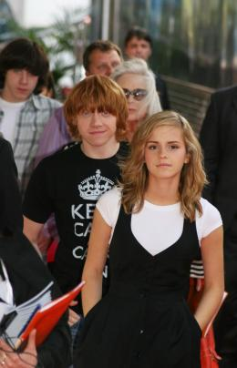 photo 99/127 - Rupert Grin et Emma Watson - Harry Potter et l'ordre du Phénix - © Isabelle Vautier - Pour Commeaucinema.com 2007