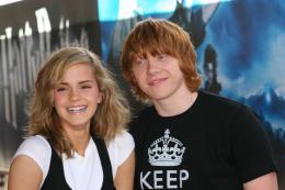 photo 98/127 - Rupert Grin et Emma Watson - Harry Potter et l'ordre du Phénix - © Isabelle Vautier - Pour Commeaucinema.com 2007