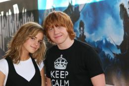 photo 101/127 - Rupert Grin et Emma Watson - Harry Potter et l'ordre du Phénix - © Isabelle Vautier - Pour Commeaucinema.com 2007