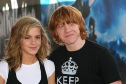photo 102/127 - Rupert Grin et Emma Watson - Harry Potter et l'ordre du Phénix - © Isabelle Vautier - Pour Commeaucinema.com 2007