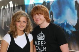 photo 100/127 - Rupert Grin et Emma Watson - Harry Potter et l'ordre du Phénix - © Isabelle Vautier - Pour Commeaucinema.com 2007
