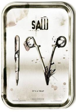 photo 11/17 - Affiche US - Saw 4 - © Métropolitan Film