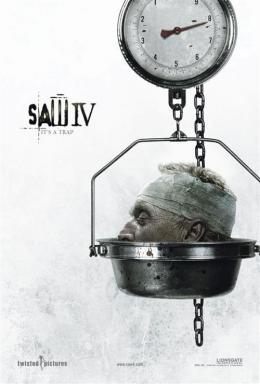 photo 13/17 - Affiche US - Saw 4 - © Métropolitan Film