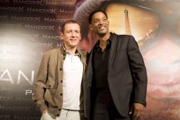 photo 57/65 - Dany Boon, Will Smith - Avant-Premi�re le 16 juin 2008 � l'Olympia (Paris) - Hancock - © Sony Pictures
