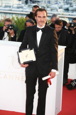 Joaquin Phoenix Cannes 2017 Lauréats photo 6 sur 195