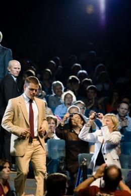 photo 127/133 - Matt Damon lors de la pr�sentation de La Vengeance dans la Peau - Deauville 1er Septembre 2007 - La Vengeance dans la Peau - © Nicolas Baret pour Commeaucinema.com