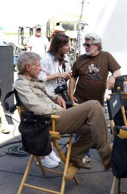 photo 41/126 - Harrison Ford, Steven Spielberg - Indiana Jones et le Royaume du Cr�ne de Cristal - © Paramount