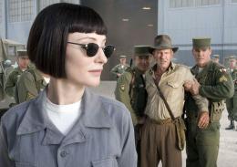 photo 45/126 - Cate Blanchett, Harrison Ford - Indiana Jones et le Royaume du Cr�ne de Cristal - © Paramount