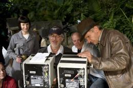 photo 53/126 - Cate Blanchett, Steven Spielberg, Harrison Ford - Indiana Jones et le Royaume du Cr�ne de Cristal - © Paramount