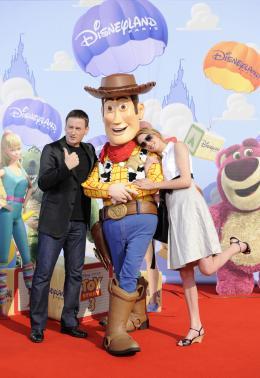 photo 155/160 - Benoit Magimel et Fréderique Bel. Avant première Toy Story 3 - Disneyland Paris, 26 Juin 2010 - Toy Story 3 - © Walt Disney Studios Motion Pictures France