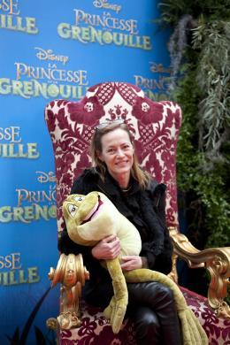 Gabrielle Lazure La princesse et la grenouille - Avant-premi�re � Paris (Grand Rex), Janvier 2010 photo 3 sur 5